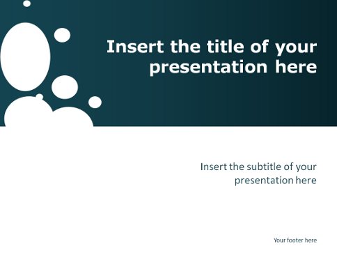 Super Sparkling - Free Template for PowerPoint and Impress #ZE_72