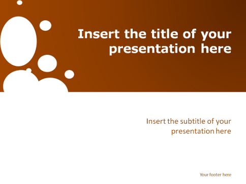 Sparkling free template for powerpoint and impress - Powerpoint open office gratuit ...