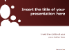 Sparkling - Free template for PowerPoint and Impress