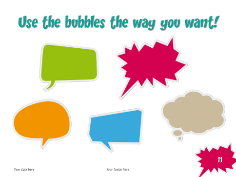 Speech bubbles free template for powerpoint and impress speech bubbles template for powerpoint screenshot11 toneelgroepblik Image collections