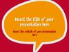 Speech Bubbles - template for Powerpoint - screenshot01