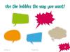 Speech Bubbles - template for Powerpoint - screenshot11