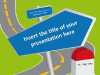 Road signs - template for Powerpoint - screenshot01