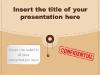 Confidential folder - template for Powerpoint - screenshot01