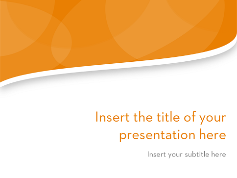 Clean Wavy – Free Template for PowerPoint and Impress