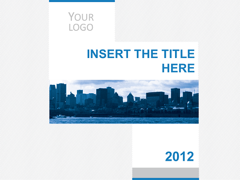 Business City Template for PowerPoint and Impress – Corporate Powerpoint Template