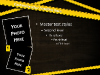Police Caution Powerpoint Template--4