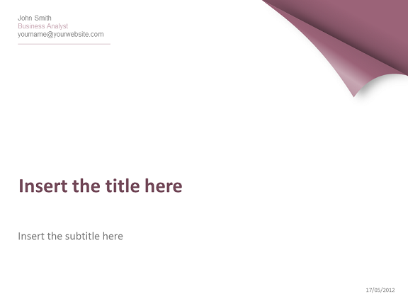 Turn the page template for powerpoint purple turn the page powerpoint template thumb1 toneelgroepblik Image collections