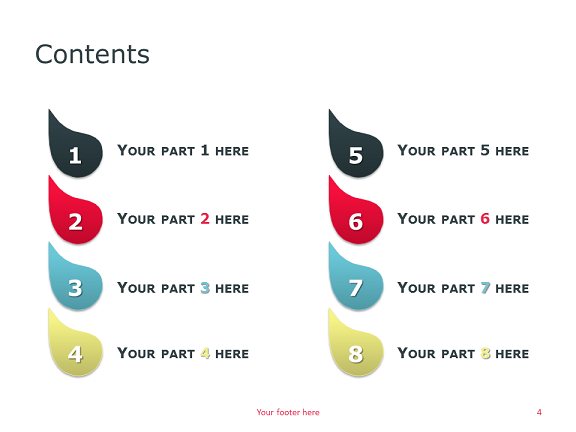 Drops – Full Template for PowerPoint - Slide04