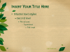 Nature Template for PowerPoint and Impress - slide2