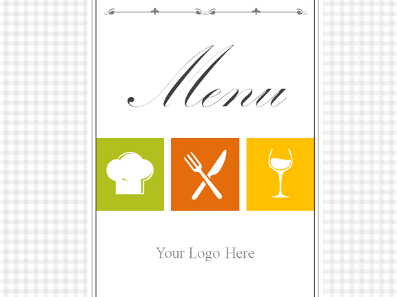 Powerpoint Menu Templates Free - Powerpoint restaurant menu template free