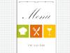 PowerPoint template for restaurant menu - slide1