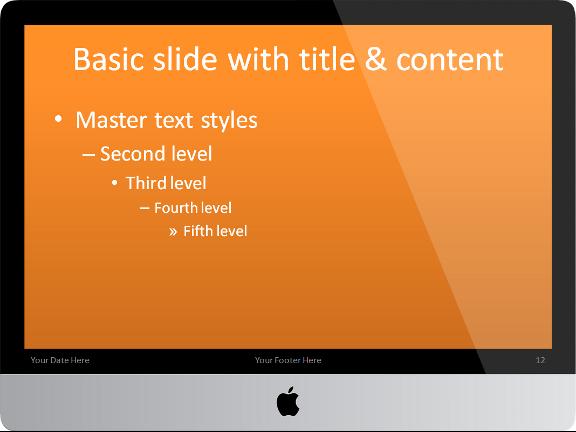 Imac powerpoint template imac powerpoint template slide12 toneelgroepblik Gallery