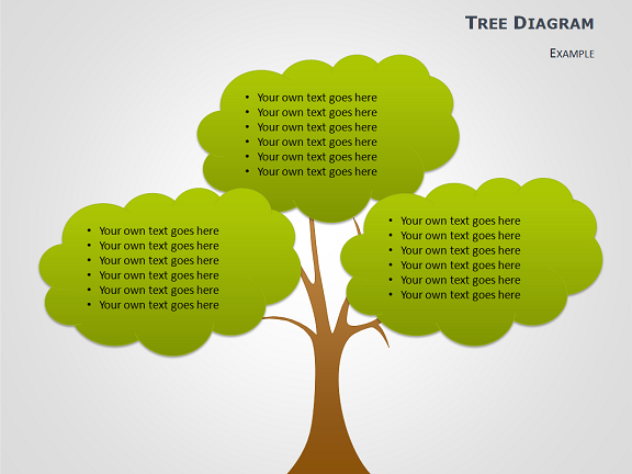 cause and effect tree diagrams for powerpoint