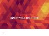 Fiery Mosaic PowerPoint Template - slide1