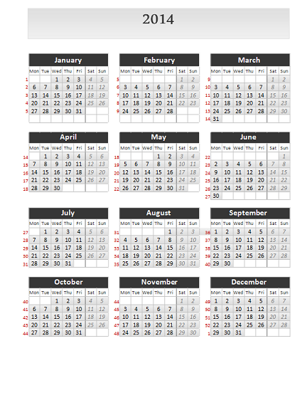 Simple calendar 2014 for powerpoint simple calendar 2014 for powerpoint slide3 toneelgroepblik Image collections