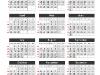 Simple Calendar 2014 for PowerPoint - slide3