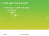 Green Background PowerPoint Template - slide5