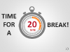 Time For A Break PowerPoint Template