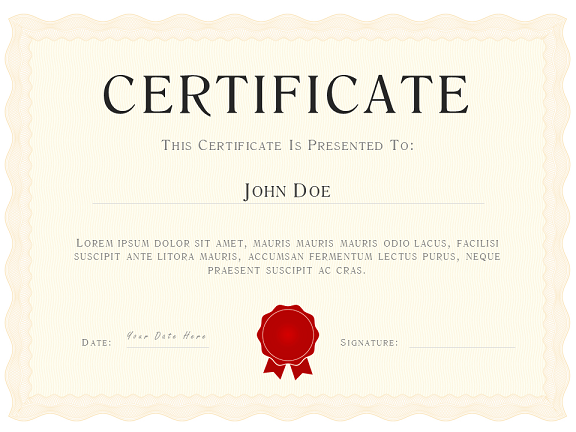 Powerpoint certificate template playbestonlinegames for Award certificate template powerpoint
