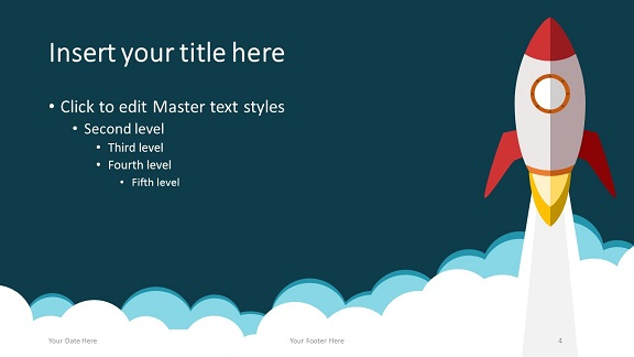 Rocket powerpoint template rocket powerpoint template 169 slide4 toneelgroepblik Images