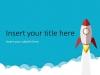 Rocket PowerPoint Template - Slide1
