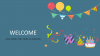 Title Slide Keynote Template - Welcome