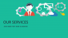 Title Slide Keynote Template - Services