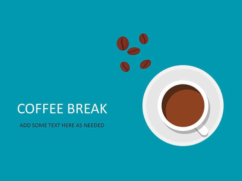 Title slide templates for powerpoint and keynote 05 title slide powerpoint template coffee break pronofoot35fo Image collections
