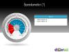 Speedometer Free Diagram for PowerPoint - Slide 01