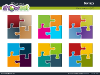 Matrix with Jigsaw Puzzle Pieces for PowerPoint-thumb6