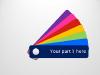 Color Fan Guide Menu for PowerPoint - slide2