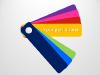 Color Fan Guide Menu for PowerPoint - slide5