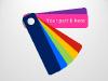 Color Fan Guide Menu for PowerPoint - slide7