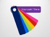 Color Fan Guide Menu for PowerPoint - slide8