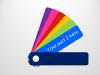 Color Fan Guide Menu for PowerPoint - slide3