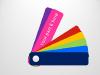 Color Fan Guide Menu for PowerPoint - 7