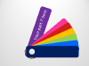 Color Fan Guide Menu for PowerPoint - 8