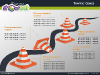 Traffic Cones Diagrams for PowerPoint - slide1