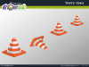 Traffic Cones Diagrams for PowerPoint - slide2