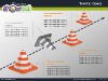 Traffic Cones Diagrams for PowerPoint - slide3