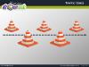Traffic Cones Diagrams for PowerPoint - slide4
