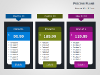 Pricing Tables for PowerPoint - slide09
