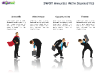 SWOT Analysis with Silhouettes for PowerPoint-slide12