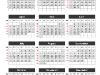 Simple Calendar 2015 for PowerPoint-slide2