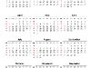 Simple Calendar 2015 for PowerPoint-slide3