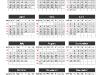 Simple Calendar 2015 for PowerPoint-slide4