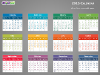 Colorful 2015 Calendar for PowerPoint-slide4