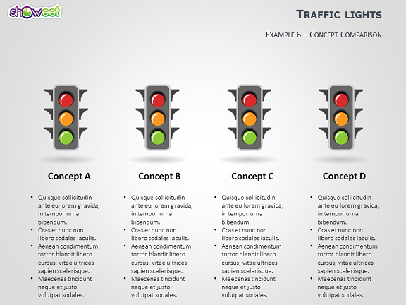 Traffic lights powerpoint template traffic lights powerpoint template slide6 toneelgroepblik Image collections
