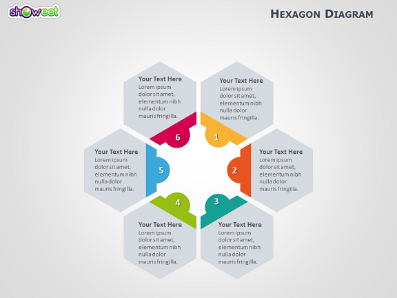 Hexagon Diagram For Powerpoint